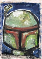 PSC (Personal Sketch Card) by John Soukup